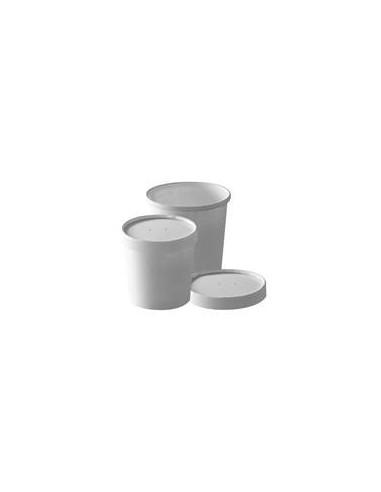 Pot à soupe carton blanc 35cl