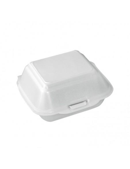 Coque Burger en polystyrène alimentaire pour emballage de burgers