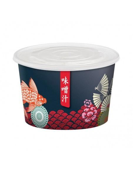 Pot à soupe miso, lamian, phô, potage asiatique.