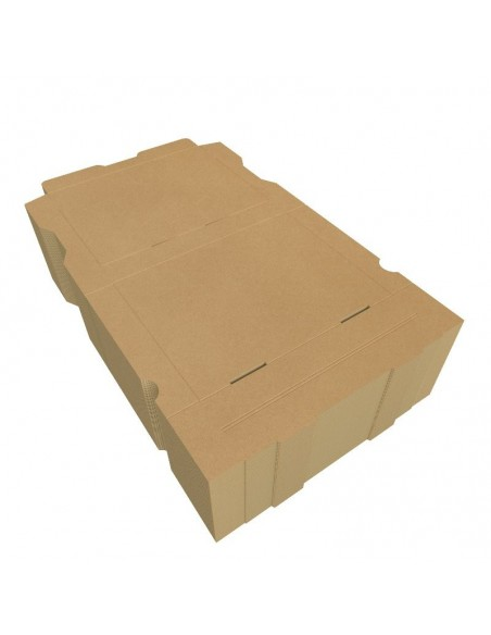 Boîte à bruschetta, tartine italienne, garnies de produits frais, en livraison ou a emporter. Colisage par 100.