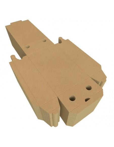 Boîte à calzone, stockage facile, par colis de 100 unités.