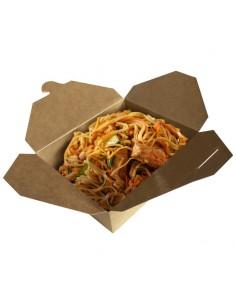 Take out box : La boite pour vos nouilles, sautés, riz, wok de légumes, udon, soba à emporter.