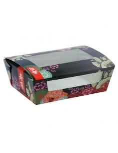 Boîte pour sushi à fenêtre