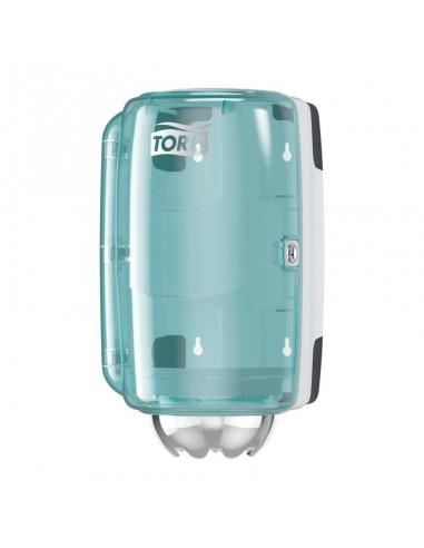 Mini distributeur Tork à dévidoir central.