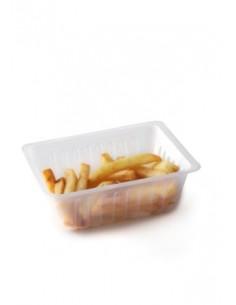 Barquette à frite économique pour emballage en restauration rapide.
